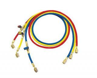 Rothenberger set di tubi flessibili Plus con rubinetto R410A-R32