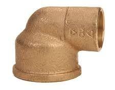 Banninger gomito 90° FF in bronzo a saldare