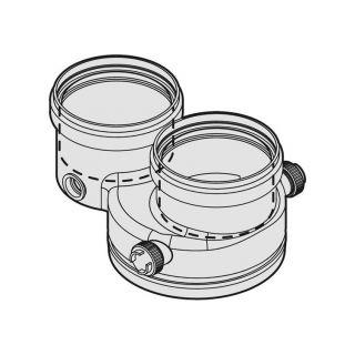 Bosch Junkers kit sdoppiato 80/80 per caldaie