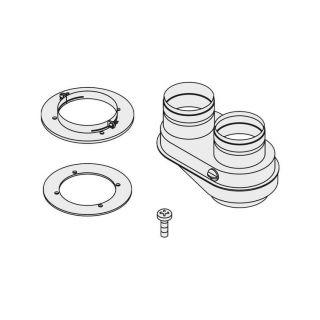 Bosch Junkers kit sdoppiato 80/80 per scaldabagni