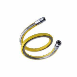 """Eurotis tubazione flessibile MF 1/2"""" per gas con dado girevole e filetto conico"""
