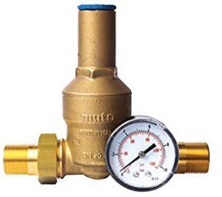 Mut riduttore di pressione con bocchettone e manometro M