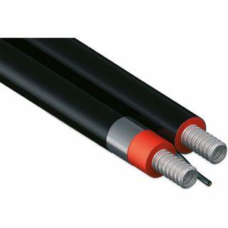 Eurotis Solar-Twin-Power tubazione doppia in acciaio inox 304 con rivestimento isolante termico e cavo multipolare