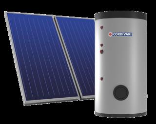 Cordivari Eco Basic sistema termico solare forzato 200 lt - 2,5 mq