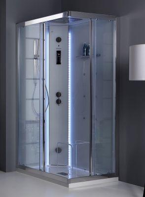 Grandform White Space Vapor box doccia cabinato