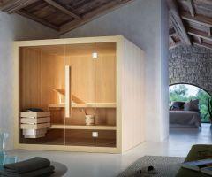 Glass Hoshi sauna finlandese