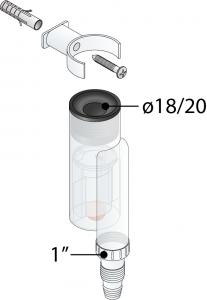 OMP sifone scarico condensa esterno