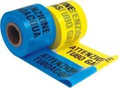 Fimi nastro segnaletico tubo gas