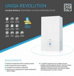 Sime Uniqa Revolution 25 caldaia istantanea con recuperatore attivo