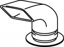Rinnai scarico a gomito per installazione esterna asciugatrice