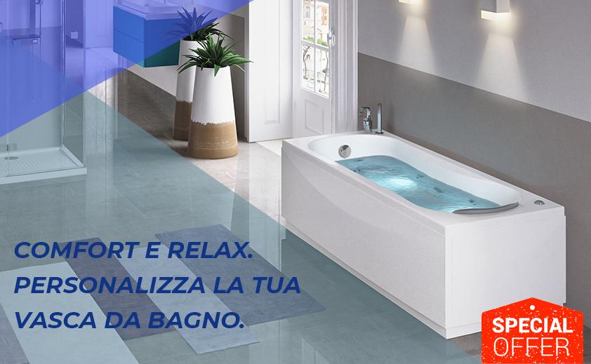 crea la tua vasca su misura promozioni